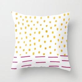 BERRY RAINFALL Throw Pillow