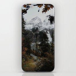 Cascade River Rd iPhone Skin
