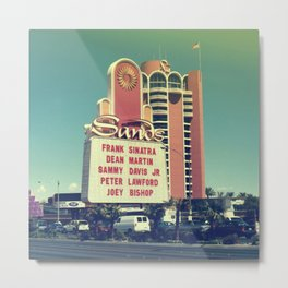 Rat Pack Vegas Metal Print