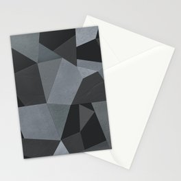 Black and grey worn . Leather patches . Stationery Cards