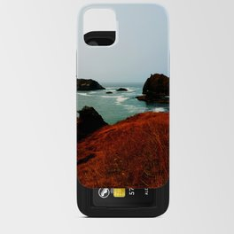 Red Thunder Rock Cove iPhone Card Case