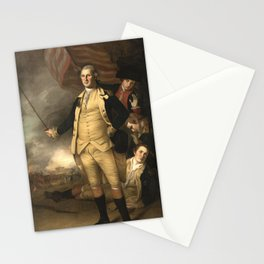 General Washington at the Battle of Princeton Stationery Cards