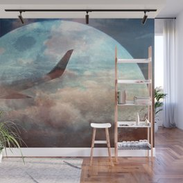 The bright side of the Moon Wall Mural