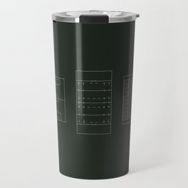 ..just the evolution & de-evolution of football Travel Mug
