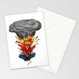 Intense Gamer Stationery Cards