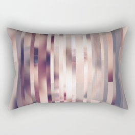 Glitch in Time - Oscillate Rectangular Pillow