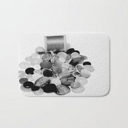Buttons Bath Mat