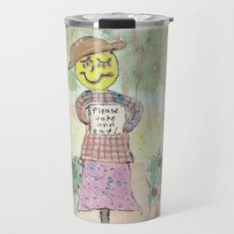 Giving Scarecrow Travel Mug