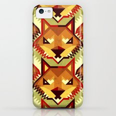 The Bold Wolf pattern Slim Case iPhone 5c