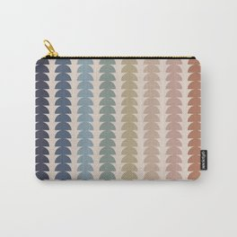 Maude Pattern- Vintage Multicolor Carry-All Pouch