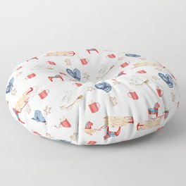 A Nordic Holiday Floor Pillow