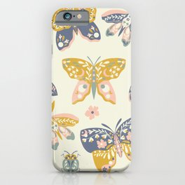 Celestial Butterflies and Bugs iPhone Case