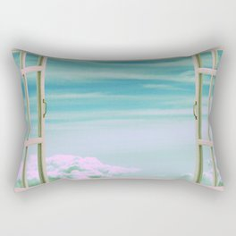 The View From Up Here Rectangular Pillow