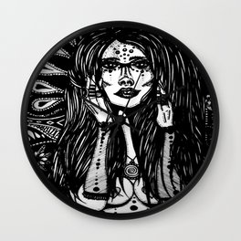 Burning Socialite Wall Clock