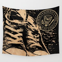 Ramones Shoes Wall Tapestry