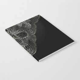 Lace Skull Notebook