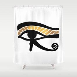 The Eye of Horus II Shower Curtain