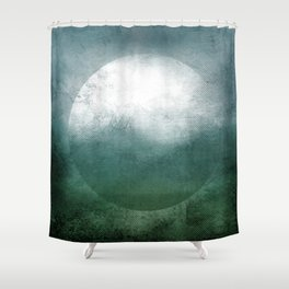 Circle Composition VII Shower Curtain
