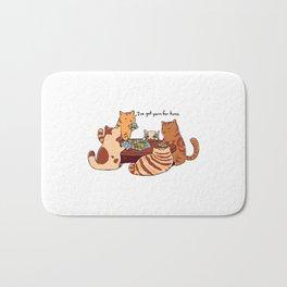 Settler Cats Bath Mat