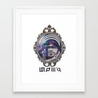 30 seconds to mars Framed Art Prints featuring 30 Seconds To Mars by Andrea Valentina