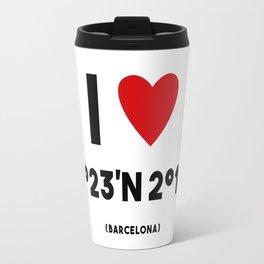 I LOVE BARCELONA Travel Mug