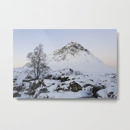 The Buachaille Etive Mor Mountain Metal Print