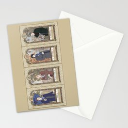 Sherlock Victorian Language of Flowers Four Seasons Stationery Cards