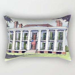 Ducros House, Thibodaux, Louisiana Rectangular Pillow
