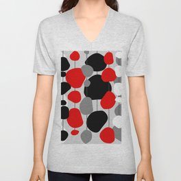 Hanging By A Thread - Abstract Unisex V-Neck