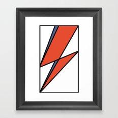 Bowie Tribute Framed Art Print