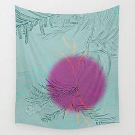 purple sun Wall Tapestry