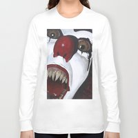 pennywise Long Sleeve T-shirts featuring Pennywise by Kristen Champion