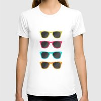 sunglasses T-shirts featuring FAVORITE SUNGLASSES by Allyson Johnson