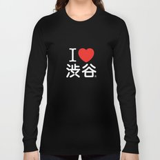 I ♥ Shibuya Long Sleeve T-shirt