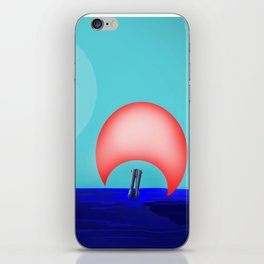 Soaring Higher and Higher with May - shoes stories iPhone Skin