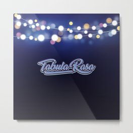 Tabula Rasa Metal Print