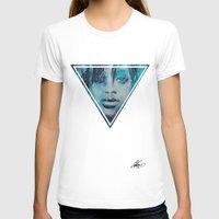 rihanna T-shirts featuring Rihanna by Nechifor Ionut