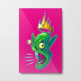 Fang Lord Metal Print