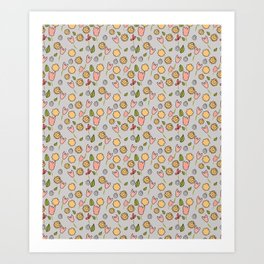 Repeat patterns Art Print