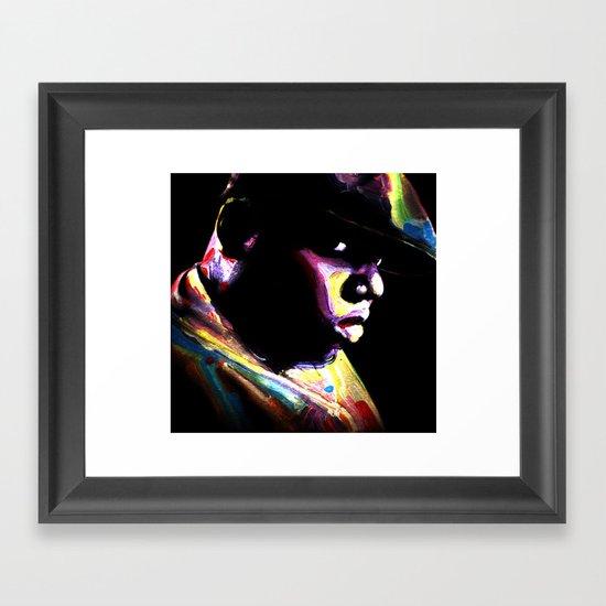 Big Papa Framed Art Print
