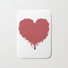 happy valentines Bath Mat