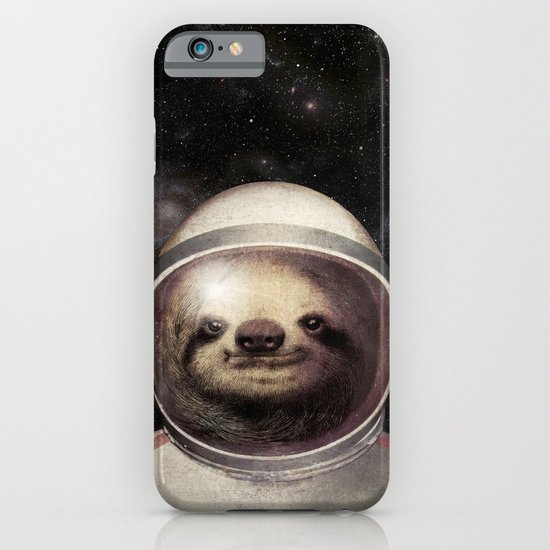 Space Sloth iPhone & iPod Case