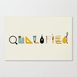 Qualified Canvas Print