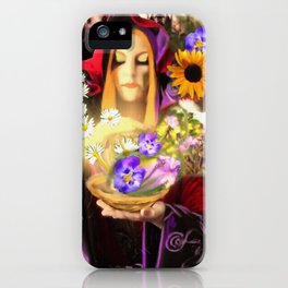 Invocating Summer iPhone Case