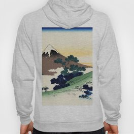 """Hokusai (1760-1849)  """"Inume Pass"""" Hoody"""
