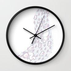 Polar slide Wall Clock