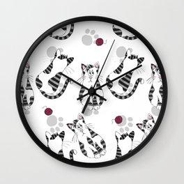 Purrforia Wall Clock