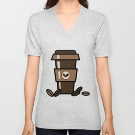 Coffee to Go Unisex V-Neck