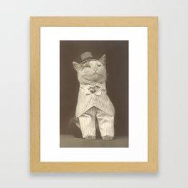 Bespoke cat Framed Art Print