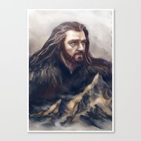 thorin Canvas Prints featuring Thorin by Ka-ren